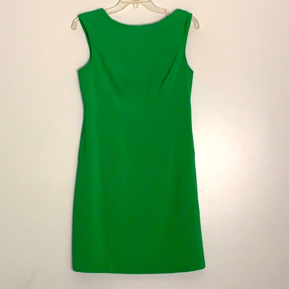 Vince Camuto Kelly green Sleeveless pencil Dress 2